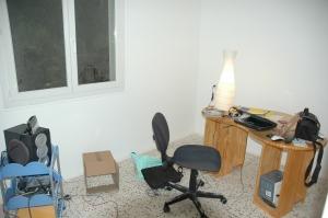 Mon bureau sans le garage